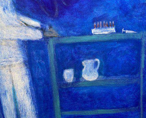 Schilderij jeugdherinneringen